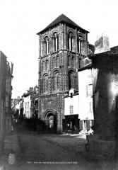 Eglise Saint-Porchaire - Clocher-porche