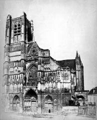 Ancienne cathédrale Saint-Etienne - Ensemble ouest
