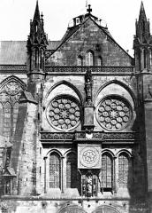 Cathédrale Notre-Dame - Transept sud : Partie supérieure