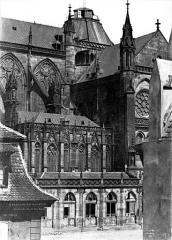 Cathédrale Notre-Dame - Façade sud : Partie centrale