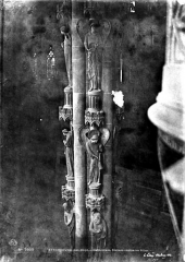 Cathédrale Notre-Dame - Vue intérieure du transept sud : Piliers des Anges