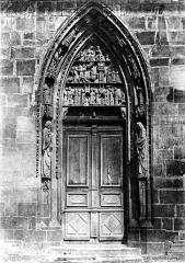 Eglise catholique Saint-Florent - Portail de la façade ouest