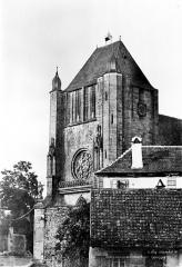 Eglise catholique Saint-Florent - Clocher, côté sud-ouest