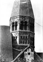 Eglise Sainte-Foy - Clocher octogonal