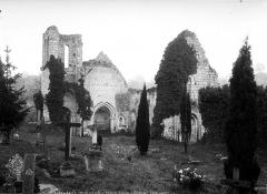 Eglise Saint-Maxenceul à Cunault - Côté ouest