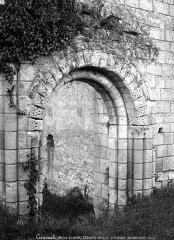 Eglise Saint-Maxenceul à Cunault - Portail ouest