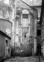 Ancienne abbaye du Ronceray - Eglise, abside