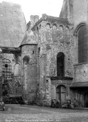 Ancienne abbaye du Ronceray - Eglise, transept sud, extérieur