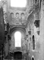 Ancienne abbaye du Ronceray - Eglise, transept sud, intérieur
