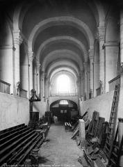 Ancienne abbaye du Ronceray - Eglise, nef vue du choeur