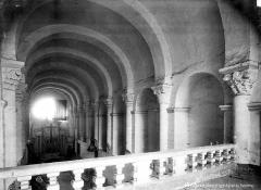 Ancienne abbaye du Ronceray - Eglise, nef vue de la tribune