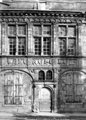 Hôtel de ville - Coupe de la façade