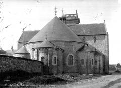 Eglise Saint-Gildas - Abside, côté
