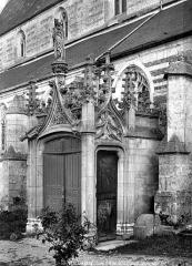 Eglise Notre-Dame-de-la-Couture - Portail nord