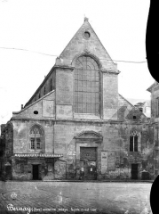 Ancienne abbaye Notre-Dame - Façade ouest