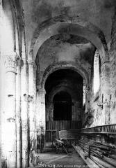 Ancienne abbaye Notre-Dame - Bas-côté nord