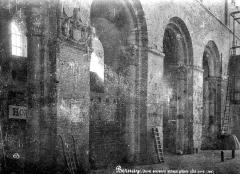 Ancienne abbaye Notre-Dame - Pilier, côté nord