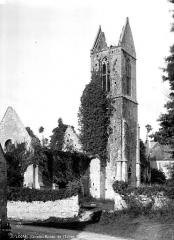 Restes du prieuré de Saint-Gabriel, puis Centre d'apprentissage horticole - Ruines de l'église