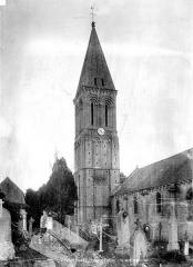 Eglise Saint-Vigor - Côté nord-ouest