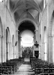 Eglise Notre-Dame de Guibray - Nef, vue de l'entrée