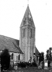 Eglise Saint-Martin£ - Côté ouest