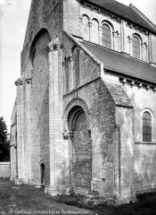 Château de Brécy - Eglise, façade ouest
