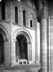 Restes du prieuré de Saint-Gabriel, puis Centre d'apprentissage horticole - Eglise, nef