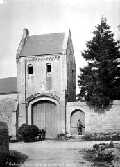 Restes du prieuré de Saint-Gabriel, puis Centre d'apprentissage horticole - Portail