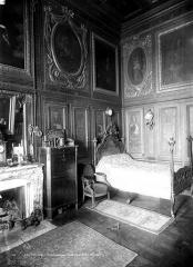 Hôtel de Lauzun ou Hôtel de Pimodan - Chambre à coucher, rez-de-chaussée