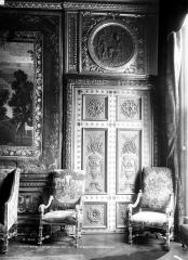 Hôtel de Lauzun ou Hôtel de Pimodan - Porte du petit salon, côté gauche
