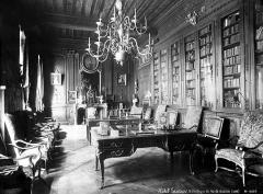 Hôtel de Lauzun ou Hôtel de Pimodan - Bibliothèque