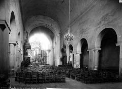 Eglise Saint-Sauveur (ancienne basilique) - Nef
