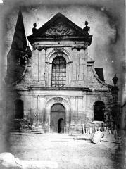 Eglise Saint-Maclou - Façade ouest