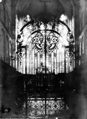 Eglise Saint-Maclou - Grille du choeur
