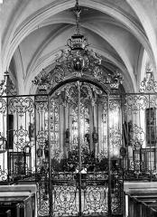 Eglise - Grille du choeur