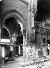 Abbaye Saint-Genest  ou ancienne abbaye Notre-Dame - Bas-côté sud