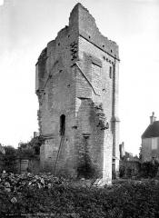 Restes du prieuré de Saint-Gabriel, puis Centre d'apprentissage horticole - Tour