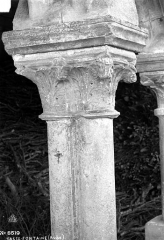 Abbaye de Basse-Fontaine - Chapiteau