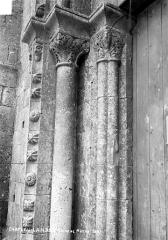 Eglise - Porte, côté gauche