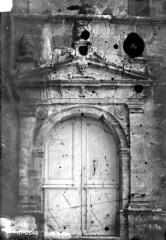 Eglise - Petite porte ouest