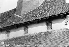 Eglise - Façade sud, fenêtres