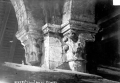 Ancienne église Notre-Dame dite église Saint-Genest - Chapiteaux