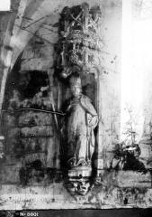 Eglise Saint-Martin£ - Statue