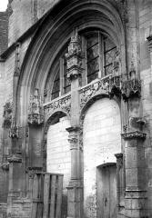 Eglise Saint-Phal - Portail sud, ensemble