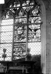 Eglise Saint-Gengoul de Chasséricourt - Vitrail du transept nord, baie est