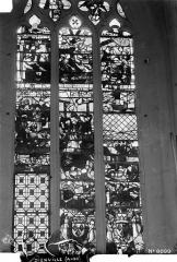 Eglise - Vitrail du choeur côté nord, 1e baie