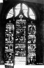 Eglise Saint-Pierre-ès-Liens - Vitrail du bas-côté sud, 3e baie