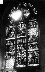 Eglise Saint-Pierre-ès-Liens - Vitrail du bas-côté nord, 1e baie