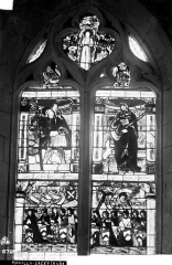 Eglise de Sacey - Vitrail