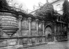 Ancien Collège des Doctrinaires ou ancien collège de jeunes filles - Entrée